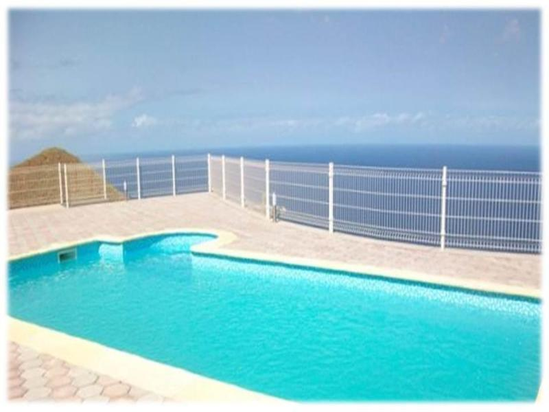 Communal pool over looking the Atlantic Ocean - Modern detached villa with panoramic sea views - Santo Antao - rentals