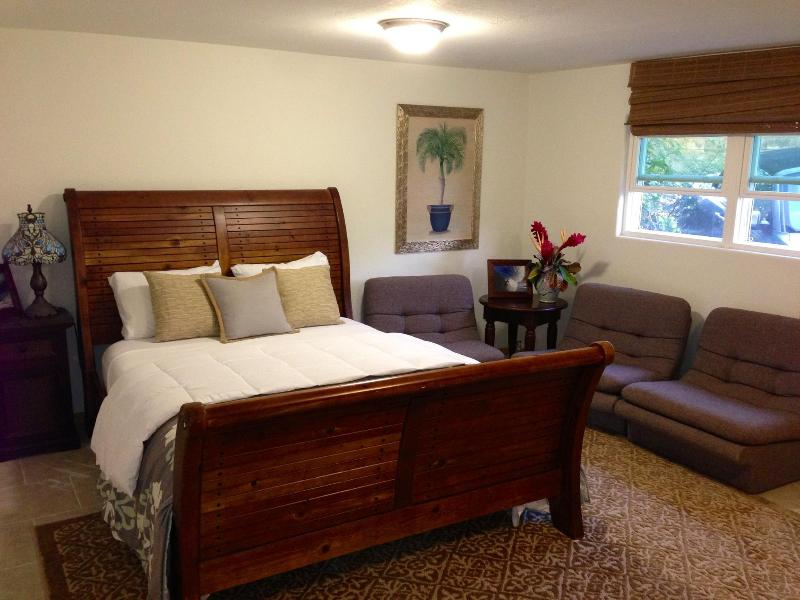Hawaiian modern studio apt by Sunset Beach - Image 1 - Haleiwa - rentals