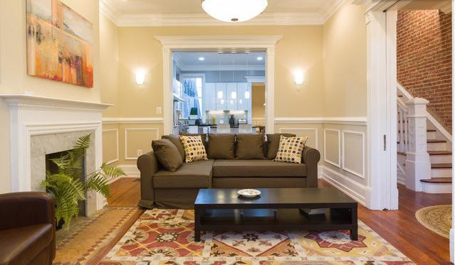 Living room - 4Bedrooms Sleep 10, Walk 2 Convention Center,Metro - Washington DC - rentals