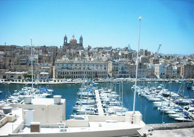view from roof top - Vittoriosa  one bedroom - Vittoriosa - rentals