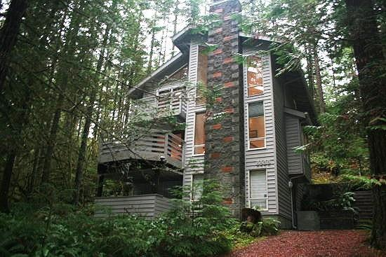Snowline Cabin #42 - Beautiful 3-story cabin that sleeps 6! - Image 1 - Glacier - rentals