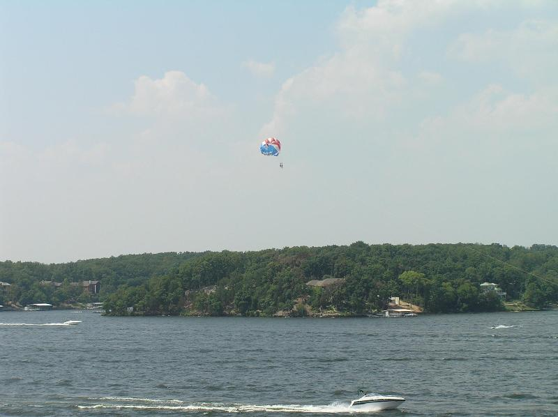Watch the lake activities from our balcony - Premium 2 BR Ledges Condo (1032) - Awesome View!! - Osage Beach - rentals