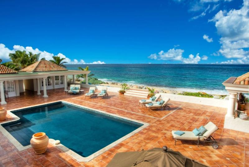 St. Martin Villa 47 Magnificent Sweeping Views Of The Beach, Ocean And Anguilla. - Image 1 - Baie Rouge - rentals