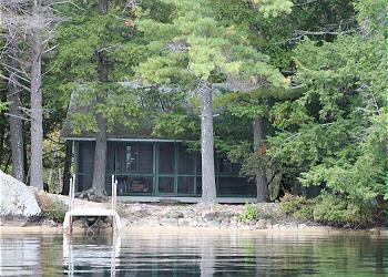 Rustic Lake Winnipesaukee Waterfront Camp in Moultonborough (AUS76W) - Image 1 - Moultonborough - rentals
