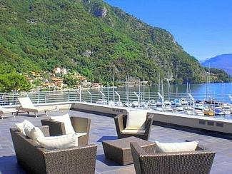 Relax on your private terrace with panoramic view  - Villa Navalia - Menaggio - rentals