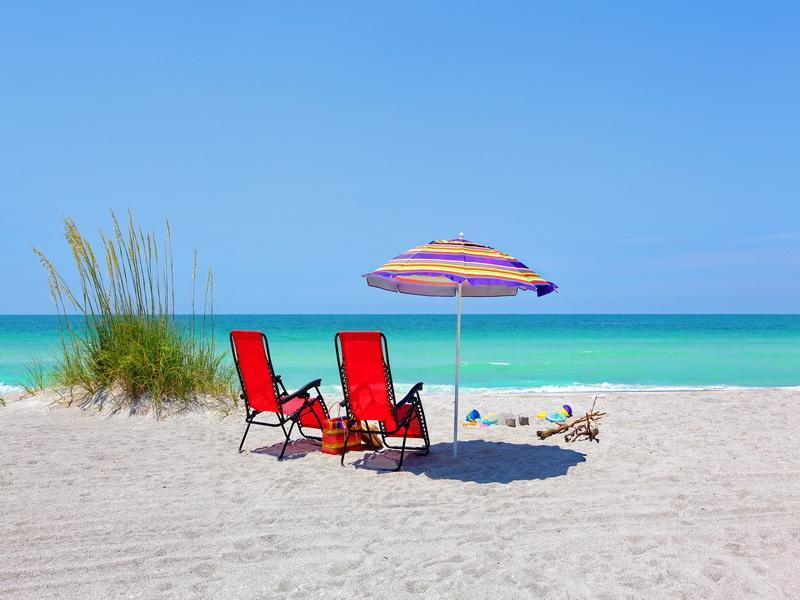 Longboat Key Beach - Beachfront 2 Bed/2Bath Condo With Pool - Longboat Key - rentals
