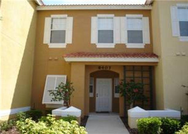 3 BED 2.5 BATH RESORT TOWN HOME BACKING TO CONSERVATION - SLEEPS 8 - Image 1 - Kissimmee - rentals