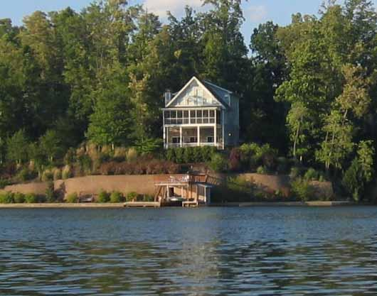Blue Ridge Mountain View Lakefront Home Oconee SC - Image 1 - Lake Jocassee - rentals