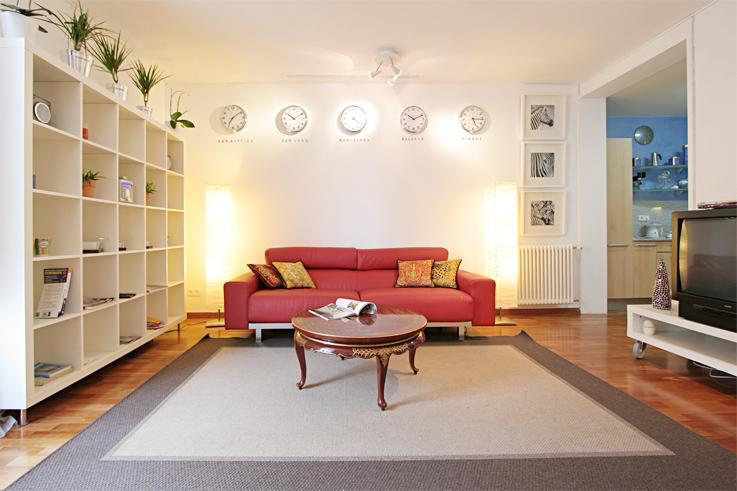 Large Living Area - Homearound Plaza Cataluña Gold with views (2BR) - Barcelona - rentals