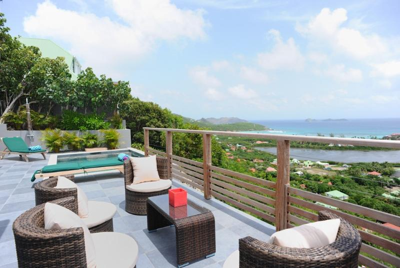 Adamas at Saint Jean, St. Barth - Panoramic View, Infinity Pool, Modern Style - Image 1 - Lorient - rentals