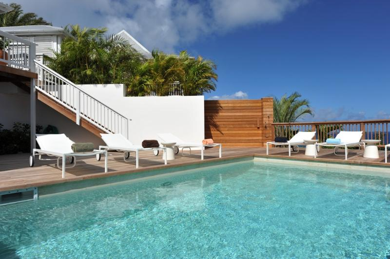 Art at Flamands, St. Barth - Ocean View, Walk To Flamands Beach, Heated Pool - Image 1 - Flamands - rentals