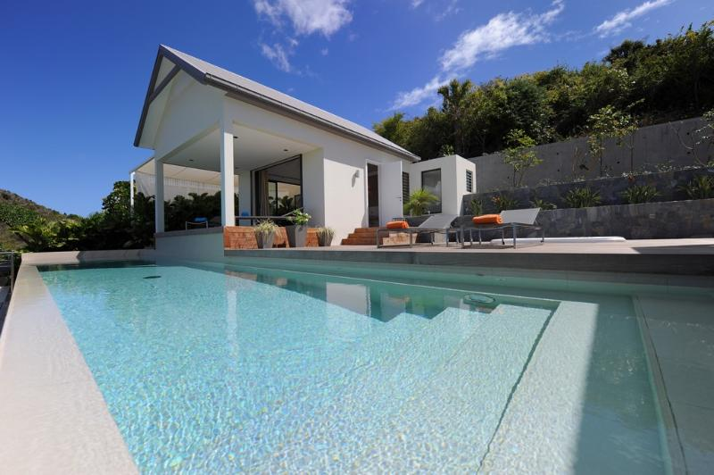 Arte at Flamands, St. Barth - Luxury Villa, Ocean View, Large Heated Pool and Jacuzzi - Image 1 - Flamands - rentals