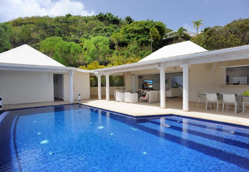 Bel Ombre at Marigot, St. Barth - Ocean View, Heated Pool, Contemporary Style - Image 1 - Marigot - rentals