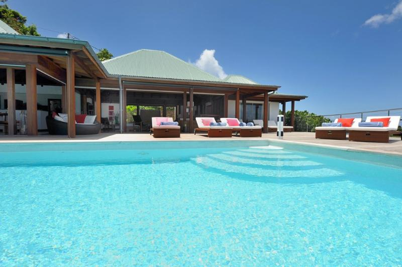 Globe Trotter at Lurin, St. Barth - Ocean And Sunset View, Short Drive To Beaches - Image 1 - Lurin - rentals