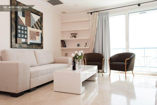 TEL AVIV VACATION  - Luxurious High Floor with Amazing Sea View - Woodston - rentals