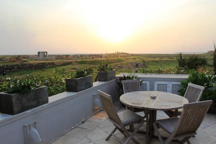 Sunset View from Terrace - Villa Chandolu - Galle Fort - Galle - rentals