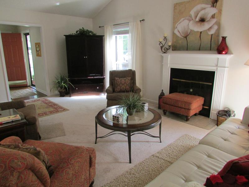 Large Open and airy Living room - Great Location!  3 Bedroom Home Minutes to Nashville - Nashville - rentals