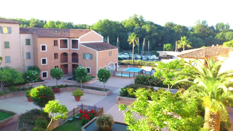 View of Swimming Pool - Excellent 2 bedroom apartment with swimming pool. - Port Cogolin - rentals