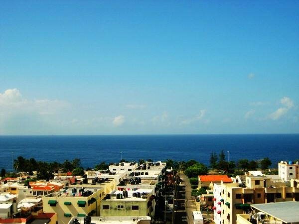View from the roof top terrace - Gorgeous Ocean View Apartment - Santo Domingo - rentals