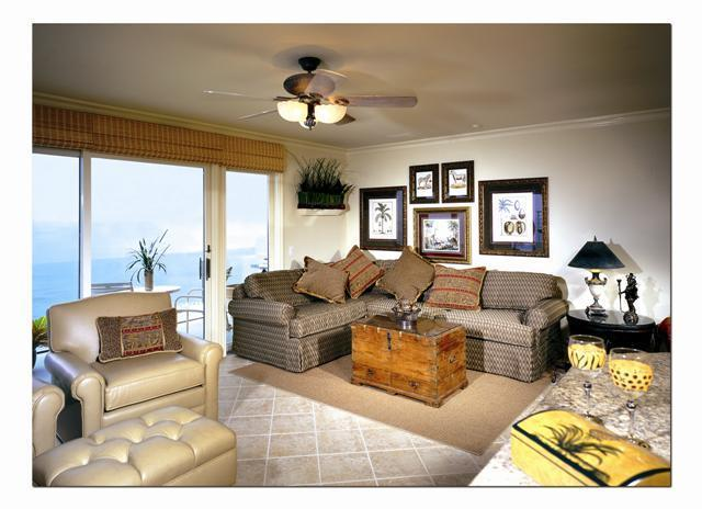 Villa Martinique Living Room - 2 bdrm.True Oceanfront, private access to beach. - Laguna Beach - rentals