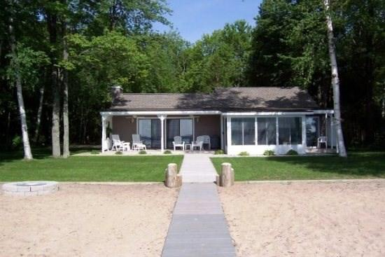 Front View - Relax in Comfort on Beautiful Big Platte Lake - Honor - rentals