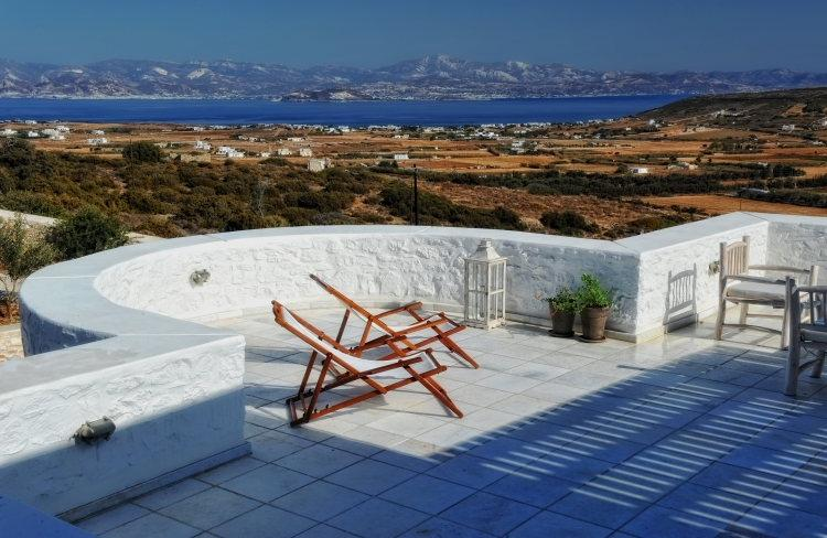 Villa Ambelas holiday vacation large villa rental greece, paros, sea view, holiday vacation large villa to rent greece, paros is - Image 1 - Naoussa - rentals