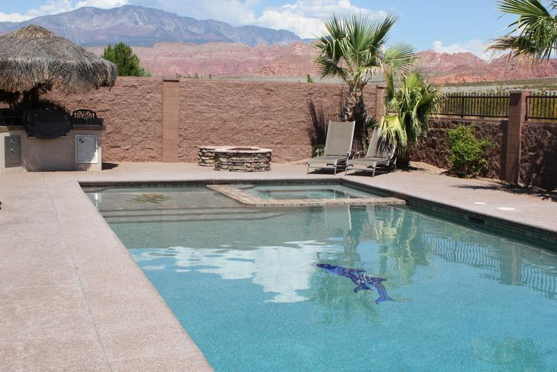 Paradise in the Sun Spectacular Home - Heated Pool - Image 1 - Saint George - rentals