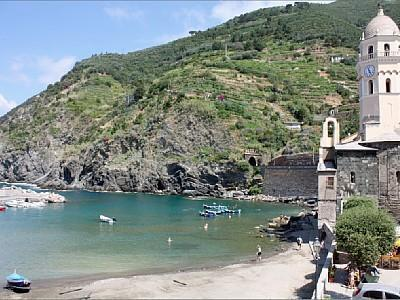 view from the balcony - SEA VIEW APARTMENT VERNAZZA - Vernazza - rentals