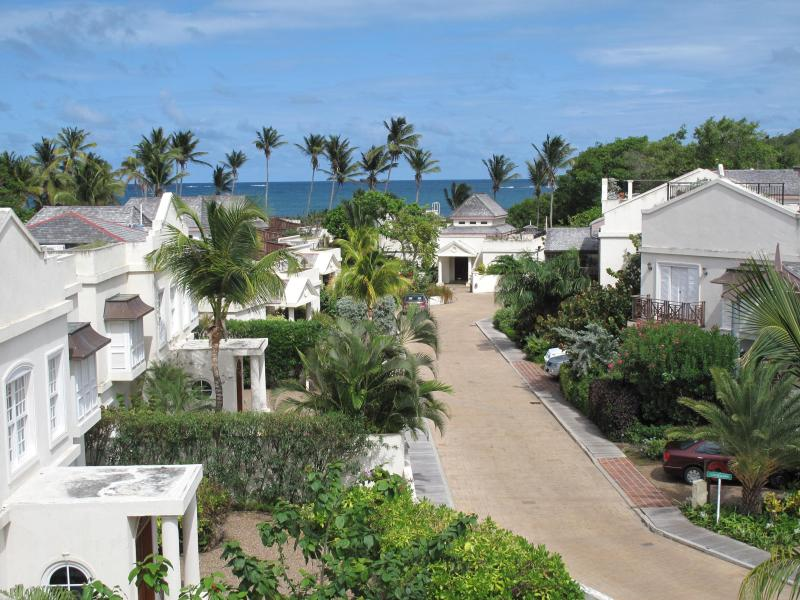 View from villa roof terrace - 3 Bedroom townhouse in beautiful beach location - Gros Islet - rentals