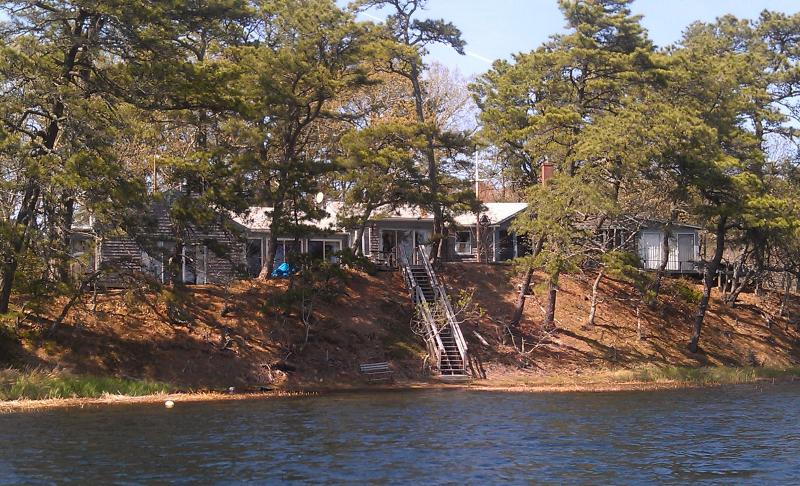 Two lovely vacation homes in one overlooking Great Pond - Charming Great Pond Waterfront  4 Bedroom Home. - Wellfleet - rentals