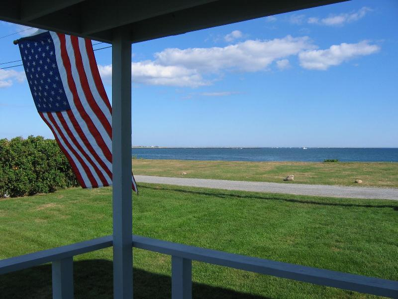Oceanfront Views from Deck - OCEANFRONT ESCAPE-WATERVIEW FROM EVERY RM-4 BR 2BA - Narragansett - rentals