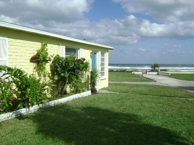 Exterior overlooking ocean - Oceanfront Home with Great View! Pet okay! - Ormond Beach - rentals