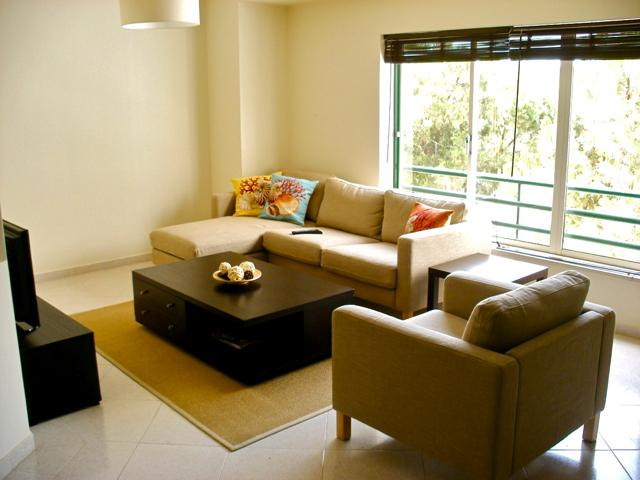 Living Room  - Arial Apartment - Portugal - rentals