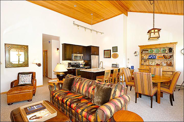 Main Living Area - Gorgeous, Remodeled Home - Fantastic Mountain Views (1975) - Aspen - rentals