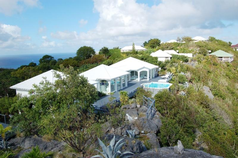 Byzance at Colombier, St. Barth - Ocean View, Private, Perfect for 2 Couples - Image 1 - Colombier - rentals