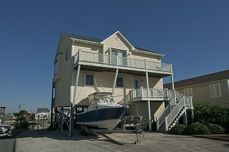 Front of Home - Beach Ball, 3056 Third St., Surf City ~~~Save up to $100!! - Surf City - rentals
