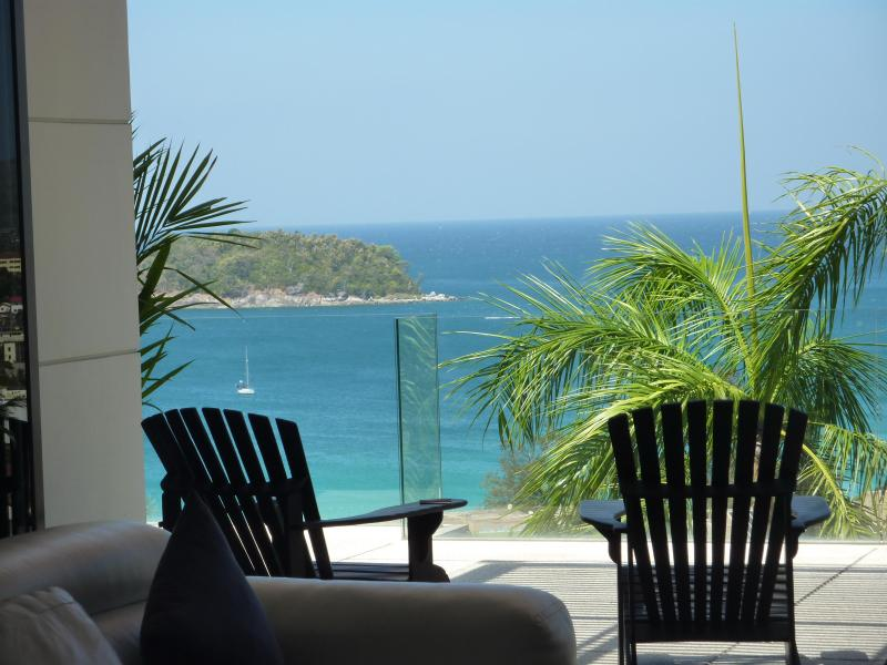 View From Living Room - Stunning Ocean View The Heights Kata Beach Phuket - Katy - rentals