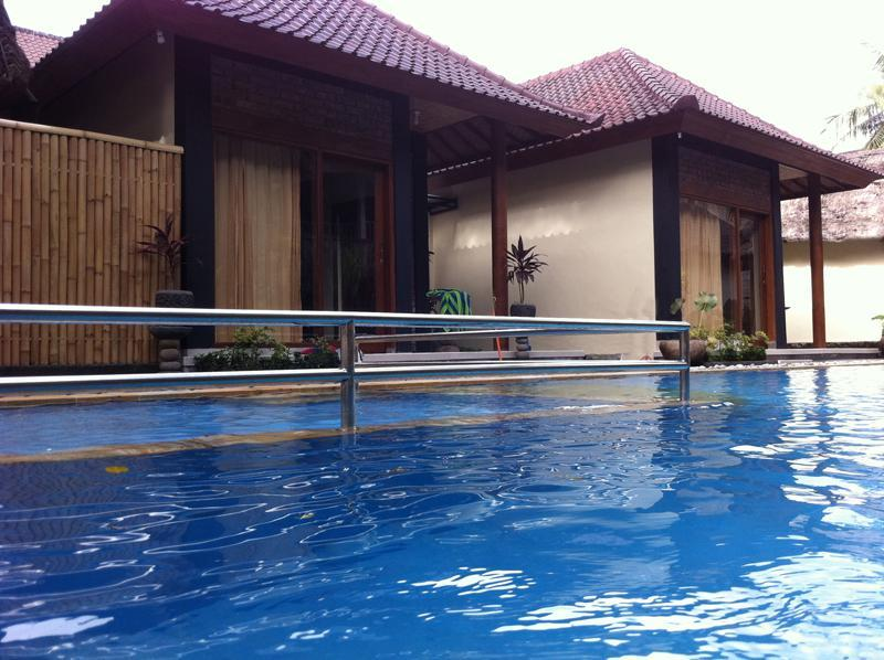 From the Pool - Kopi Kats Pool-side Townhouse Villa in Ubud, Bali - Ubud - rentals
