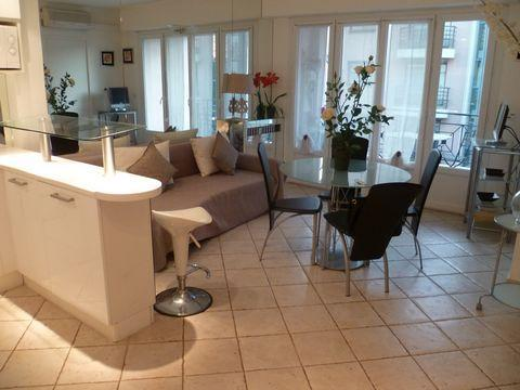 Close Croisette - 2 bedroom apartment with terrace - Image 1 - Cannes - rentals