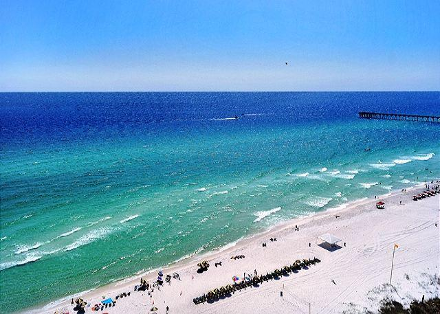 SEE MILES OF BEAUTIFUL BEACH FROM HERE - LUXURY FOR 8!  GREAT VIEWS! 10% OFF ALL SEPT/OCT STAYS! - Panama City Beach - rentals