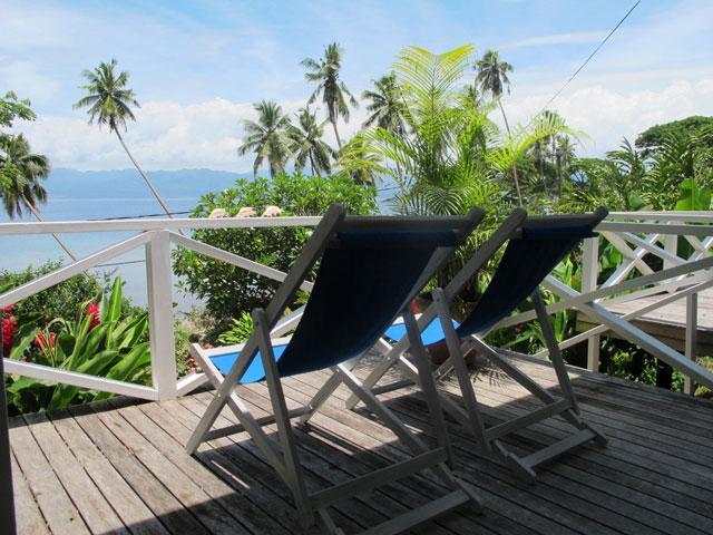 Deckchairs - A slice of Paradise at Seaside Shanty - Savusavu - rentals