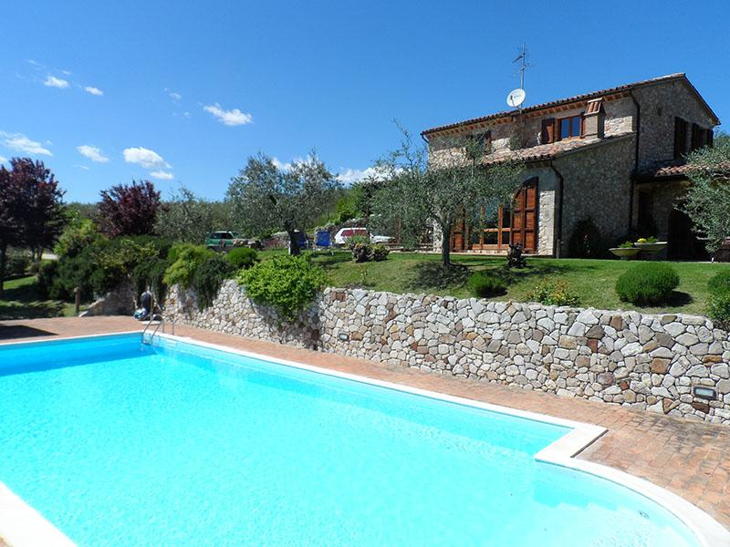 Villa Diana- Pool-WiFi- June 1500- Jul/Aug 2200 - Image 1 - Umbria - rentals