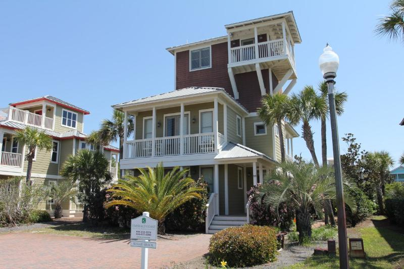 Sugar Shack, 5+ bedrooms, Pets allowed, gulf views - Image 1 - Santa Rosa Beach - rentals