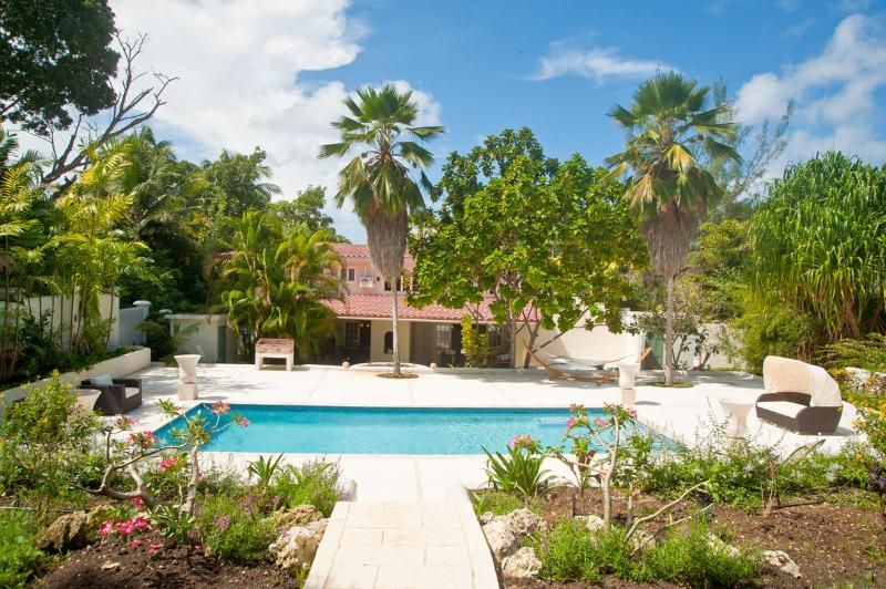 Tropical view  - Capri Manor: Refined Barbadian Living - Gibbs - rentals