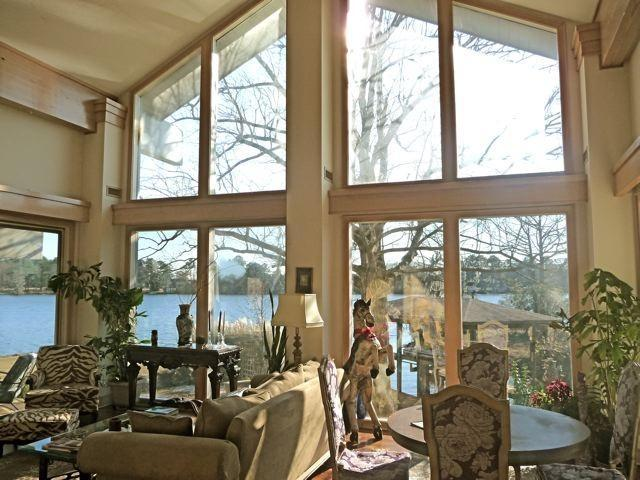 Riverview from Great room - Waterfront estate on Trent River - New Bern - rentals