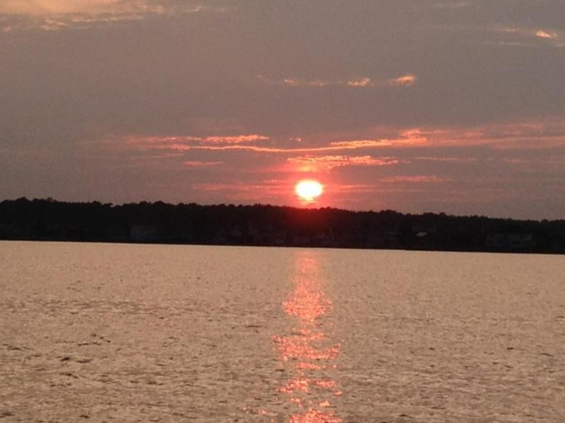 Sunrise from front porch - Back Bay Bungalows - Unit 1 - Berlin - rentals