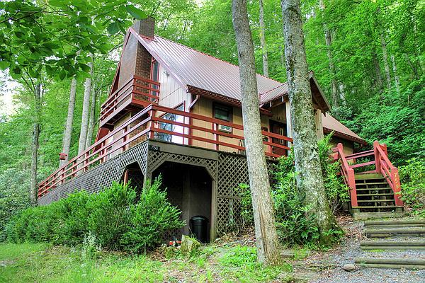 Spirit of the River, Easy Access, Large Jacuzzi Tub in Master, Private, Fishing from the Cabin, Wood Burning FP - Image 1 - Burnsville - rentals