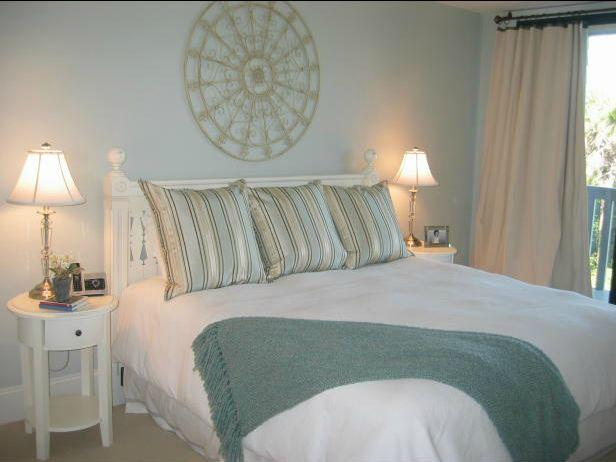 The Master Bedroom, King Bed - Sandpiper at Shipwatch, 2BR, Oceanfront, Gorgeous! - Kiawah Island - rentals