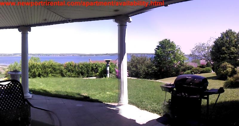 Patio partial views - Private Upscale Apartment & Stunning Water Views - Portsmouth - rentals