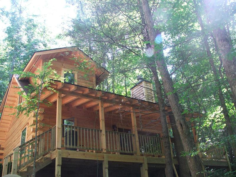 Truly Beautiful Log Cabin - Like New, Log Cabin Robbinsville, Smoky Mountains - Robbinsville - rentals